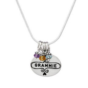 Our h and  stamped Nana Necklace