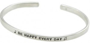 H and  Stamped Inspiration Cuff
