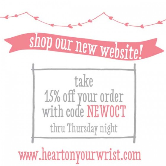 H and  stamped jewelry sale!