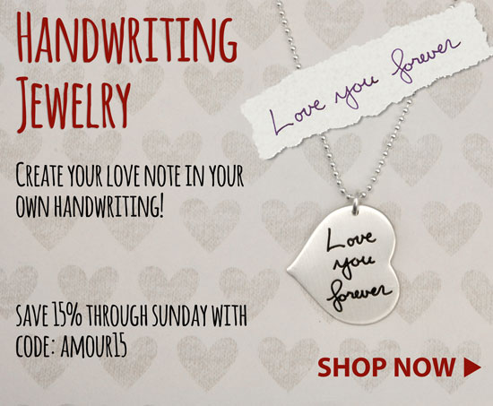 H and writing Jewelry