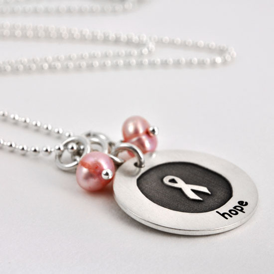 Etched Awareness Necklace