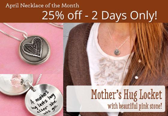 Mother's Hug Locket